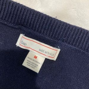Navy Gap Sweater